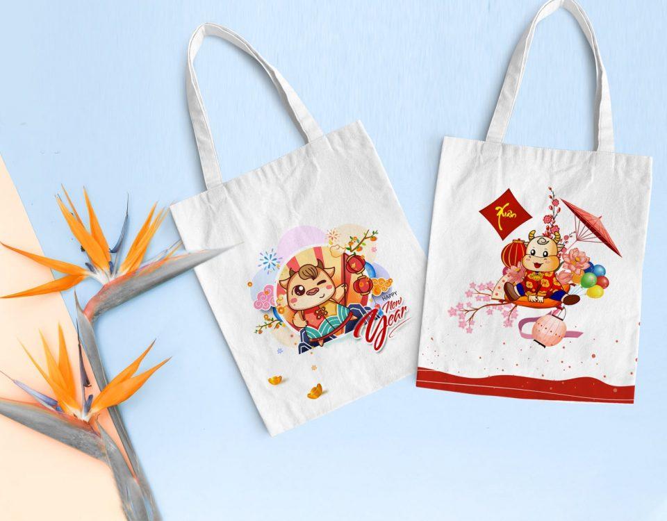 Gợi ý những mẫu túi vải canvas làm quà tặng tết 2022